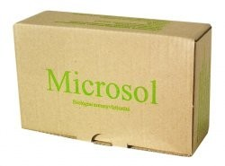 Microsol biológiai szennyvíztisztító és dugulás megelőző készítmény