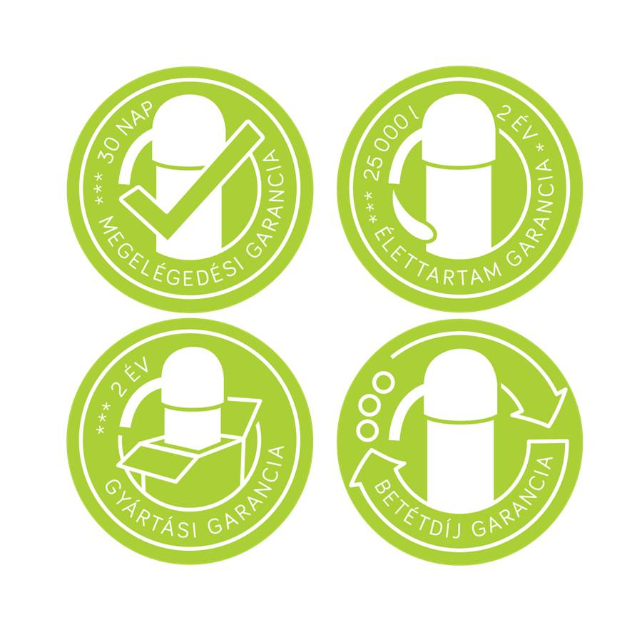 Wellnet víztisztító berendezések garanciával