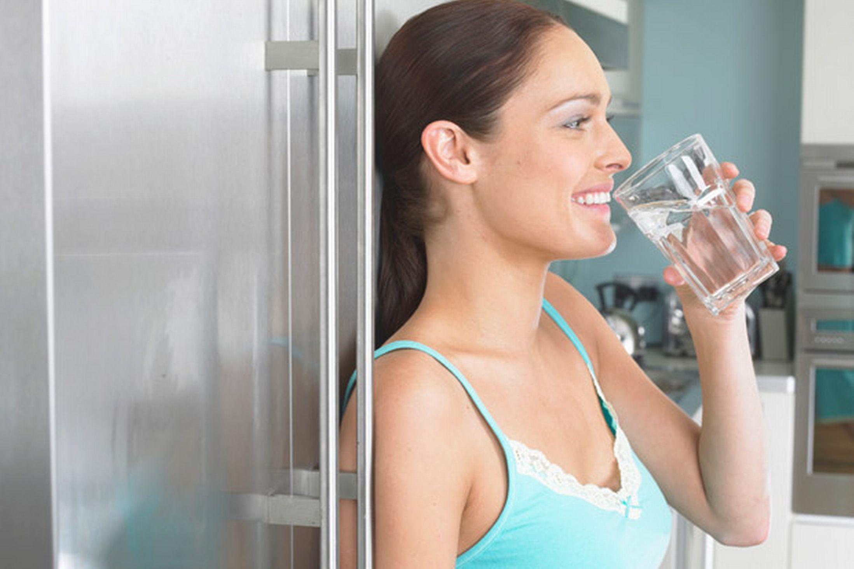 Csapvíz ivóvíztisztító készülékkel